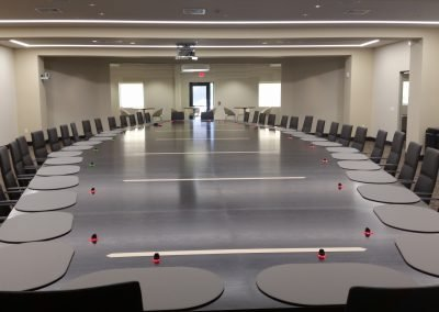 Telecom company conference table