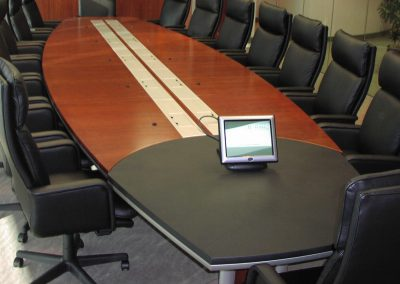 Eventi Articulating Executive Conference Table