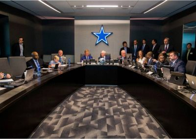 Cowboys Management Board Room