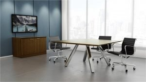 Leeza Square Meeting Table