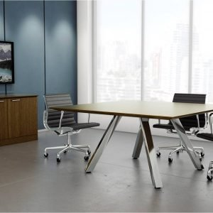 Leeza Square Meeting Table