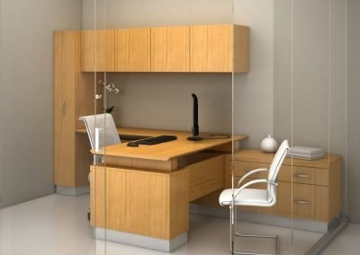 18_americana_contemporary_office_typical_2_in_natural_cherry_with_72_inch_wide_wall_mounted_overhead_cabinets