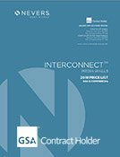 2019 Nevers Interconnect Price List GSA Cover
