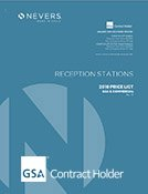 2019 Nevers Reception Station Price List GSA Cover