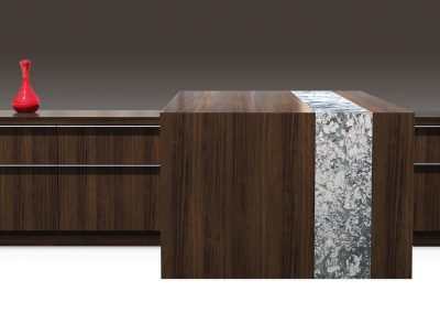 Nevers Cazzador Executive Office with Cambria
