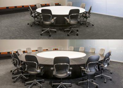 Nevers Expandable Round Table