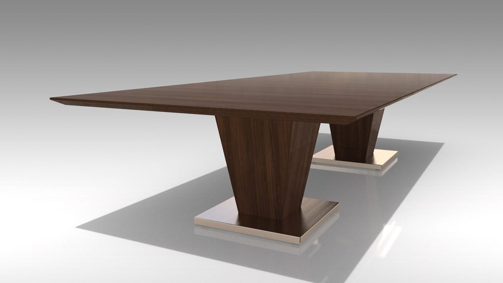 "Tempezo 144"" x 60"" Conference Table"