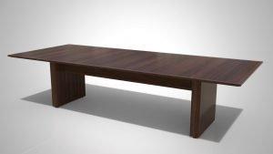 AMERICANA TC1 120x48 Quick Ship With LustreTech American Walnut Finish