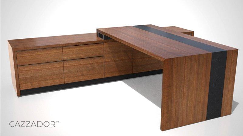 Nevers Cazzador Private Office Desk