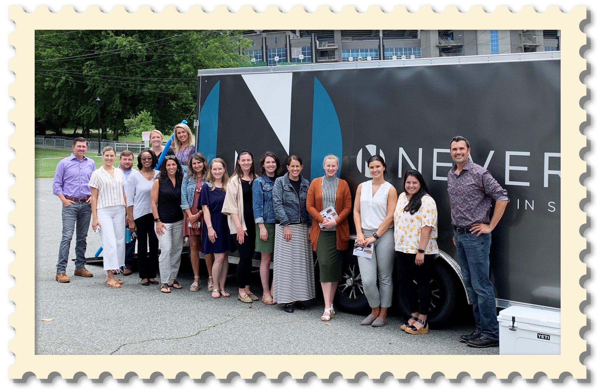 Nevers' Mobile Showroom Gathers a Crowd